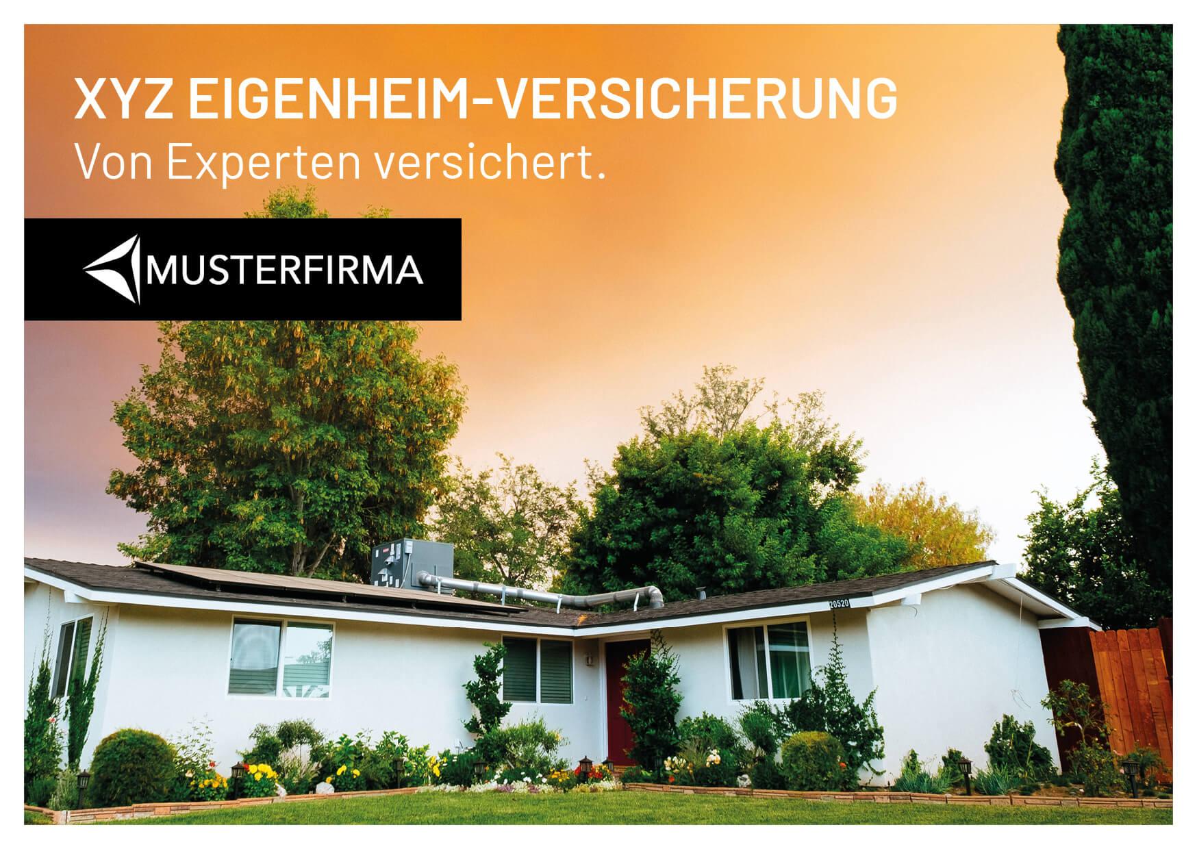 Beispielkarte Partner Lufthansa vorne