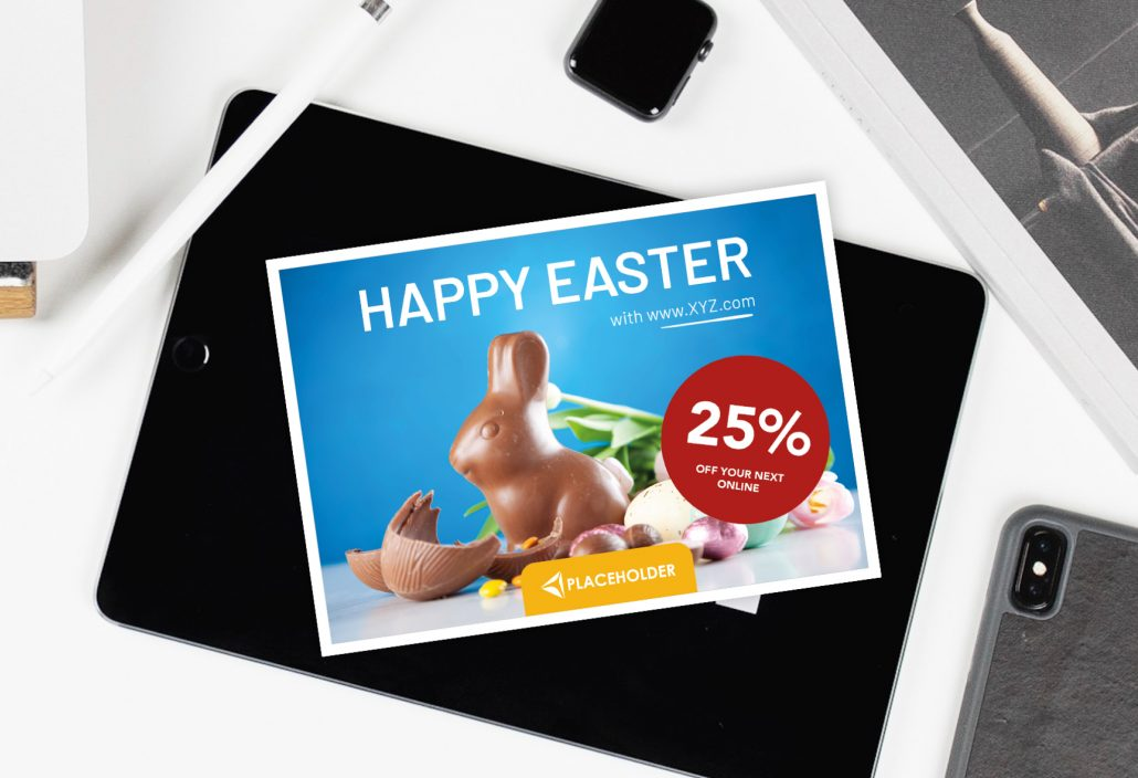 personalized business easter greetings for existing costumers