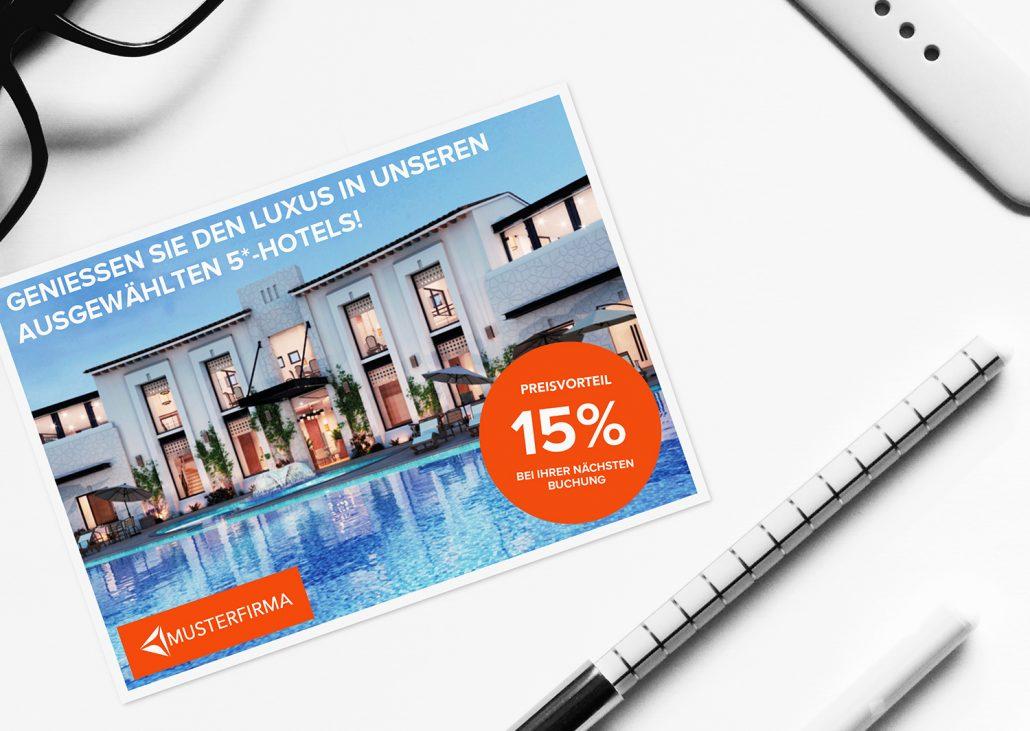 Postkarten Marketing in Coronakrise Tourismusbranche