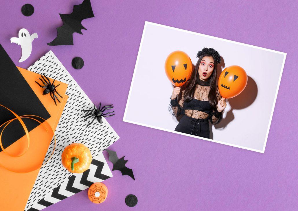 halloween postkarten verschicken