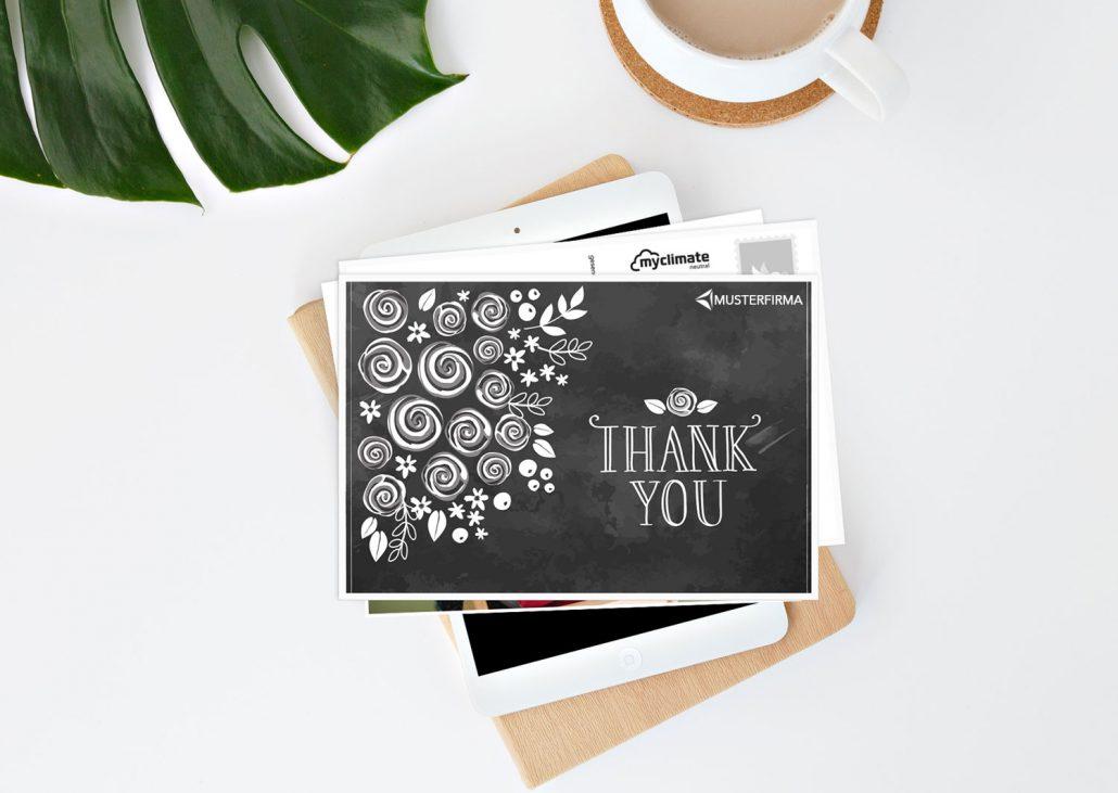 Kundenrückgewinnung durch Dankeskarten in Form einer Postkarte