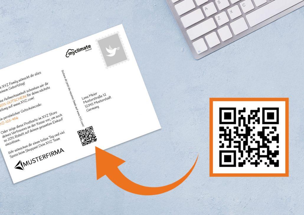 Kundenrückgewinnung mit Gutscheine per QR-Code