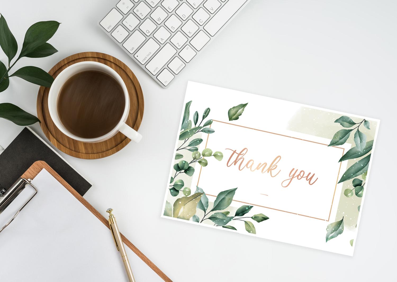 Danke sagen: 4 einfache DIY Ideen für Deine Dankeskarte